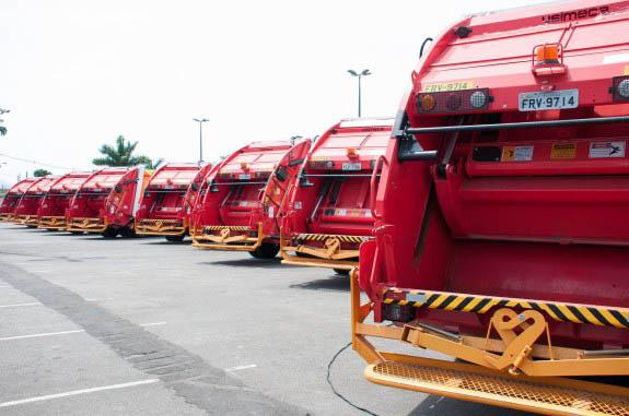 Praia Grande disponibiliza serviços diferenciados de recolha de lixo