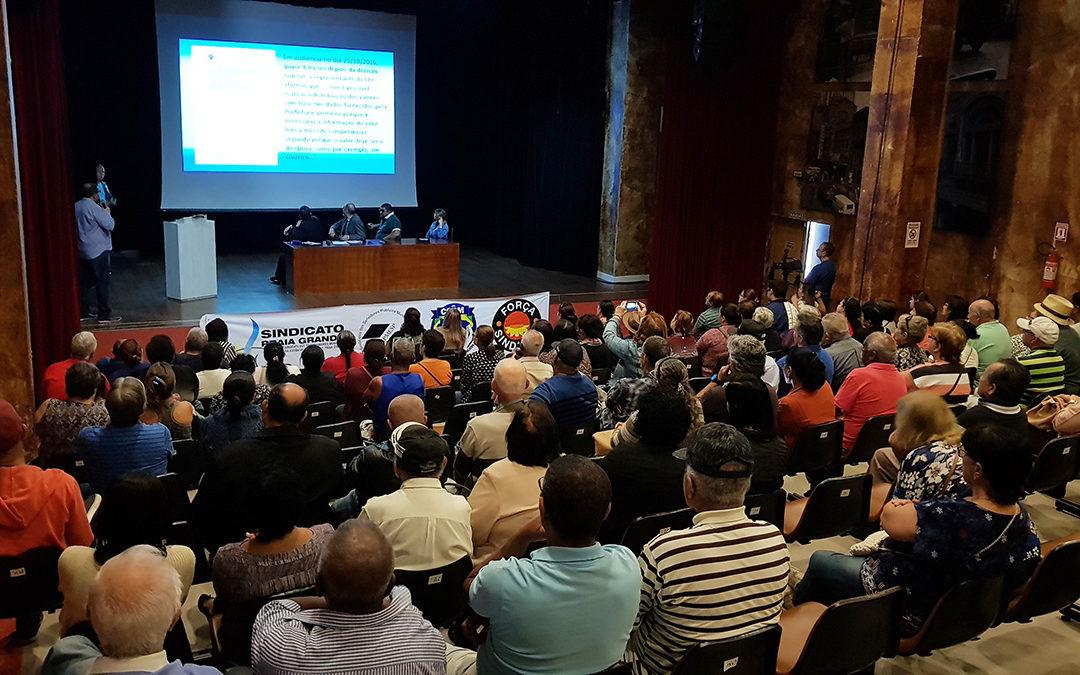 Sindicato Praia Grande faz petição para atualização de cálculos no processo do FGTS