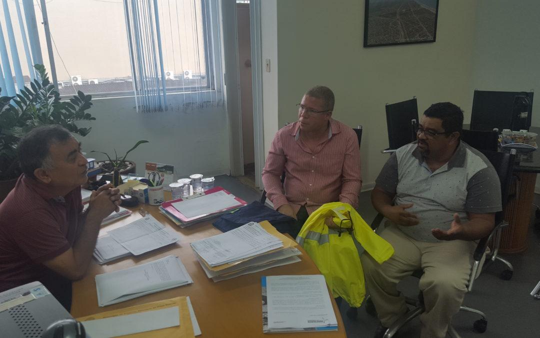 Sindicato PG fala com secretário sobre EPIs na SESURB